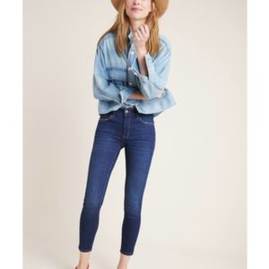 PILCRO AND THE LETTERPRESS Hi Rise Skinny Ankle